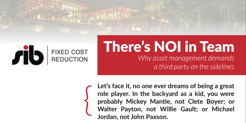 NOI - Hotel Industry White Paper
