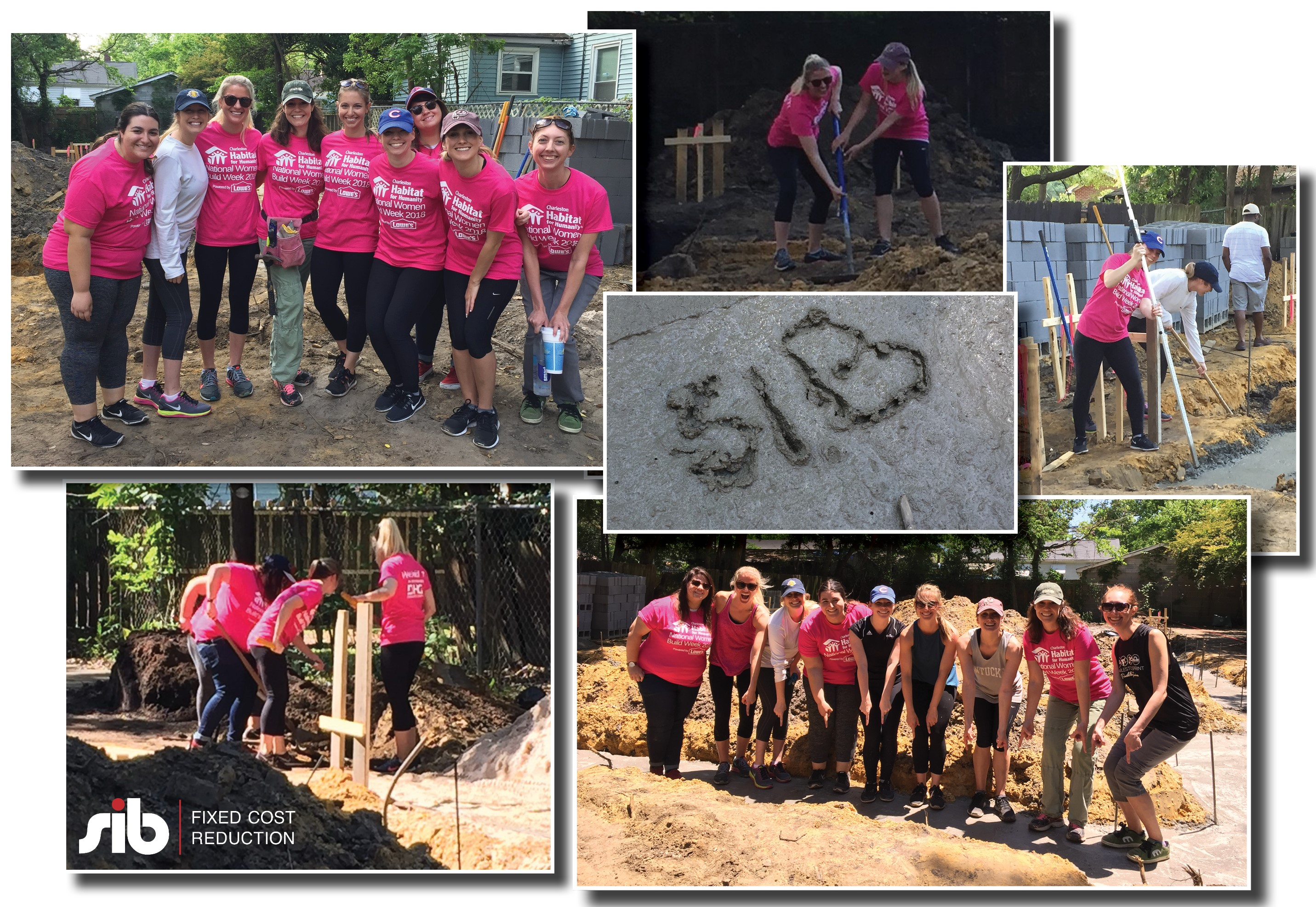 SIB Fixed Cost Reduction - Habitat for Humanity National Women Build Week 2018