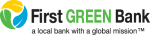 First Green Bank logo