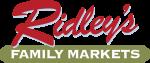 Ridley's Family Markets logo