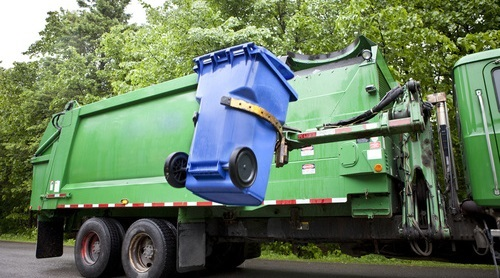 Reduce Waste Removal Costs | garbage truck lifting bin | SIB Fixed Cost Reduction