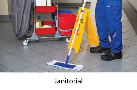 Expense Reduction Services | Janitorial | SIB